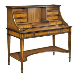 EuroLux Home - New Directoire Table Desk Solid Hardwood - Product Details