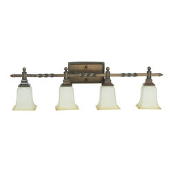 Craftmade - Craftmade Ryan 154 Series Transitional Bathroom / Vanity Light X-4RP33451 - 154 Series Features: