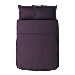 IKEA of Sweden - TANJA BRODYR Duvet cover and pillowsham(s) - Duvet cover and pillowsham(s), purple