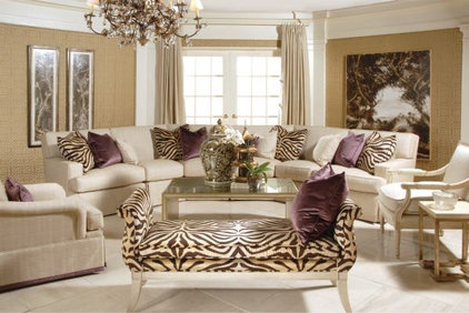 Eclectic Sectional Sofas by Barbara Schaver @ Furnitureland South