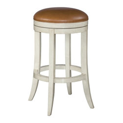 EuroLux Home - New Swivel Barstool Bar Stool Chalk White - Product Details