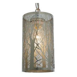 "Meyda Lighting - Meyda Lighting 126760 5""W Winter Maple Mini Pendant - Meyda Lighting 126760 5""W Winter Maple Mini Pendant"