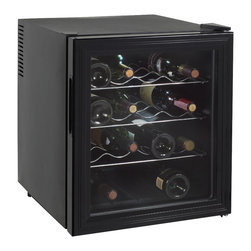 Avanti - 16-Bottle thermoelectric Wine Cooler - -Stores up to 16 wine bottles