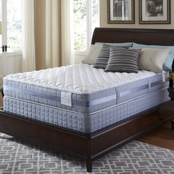 Serta - Serta Perfect Sleeper Resolution Firm Cal King-size Mattress and Foundation Set - Wake up refreshed with this Perfect Sleeper Firm mattress and foundation from Serta. A Consumer Digest Best Buy for over a decade so you can shop with confidence this mattress will offer the comfort and support you need for a great night's sleep.