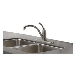Delta - Collins Water Efficient Single Handle Kitchen Faucet w/ Diamond Seal Technology - Delta 140-SSWE-DST Collins Water Efficient Single Handle Kitchen Faucet with Diamond Seal Technology in Stainless.