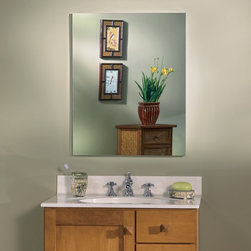 Lighthouse Distribution Corp - Broan-Nutone Metro Oversize Deluxe 20W x 25H in. Medicine Cabinet 52WH254DP Mult - Shop for Bathroom Cabinets from Hayneedle.com! Mirrors mirrors on the wall ... and in the wall and on the door. The Broan-Nutone Metro Oversize Deluxe Medicine Cabinet - 20W x 25H in. has mirrors on both sides of the door and on the back wall too for all the sparkle and shine you could hope for. The large frameless mirror is available with or without a beveled glass edge. Other options abound: the door is reversible to open left or right and you can choose from two extra-large sizes. Open the door of the NuTone Metro Medicine Cabinet to find 5 glass shelves that will adjust to fit your needs. Recessed mounting provides extra room inside and it looks deeper with the mirrored wall background. Notice how quietly the door closes thanks to rubber bumpers. It's simply beautiful. Size options in inches: Overall dimensions: 20W x 5D x 25HRough opening: 19.25W x 3.5D x 24H About Broan-NuToneBroan-NuTone has been leading the industry since 1932 in producing innovative ventilation products and built-in convenience products all backed by superior customer service. Today they're headquartered in Hartford Wisconsin employing more than 3200 people in eight countries. They've become North America's largest producer of medicine cabinets ironing centers door chimes and they're the industry leader for range hoods bath and ventilation fans and heater/fan/light combination units. They are proud that more than 80 percent of their products sold in the United States are designed and manufactured in the U.S. with U.S. and imported parts. Broan-NuTone is dedicated to providing revolutionary products to improve the indoor environment of your home in ways that also help preserve the outdoor environment.