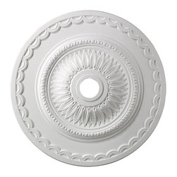 "Elk Lighting - Elk Lighting-M1008WH-Brookdale - 30"" Medallion - We offer a comprehensive suite of exclusive products to embrace your home with style and sophistication."