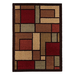"Tayse - Shag Fashion Shag 5'3""x7'3"" Rectangle Multi Color Area Rug - The Fashion Shag area rug Collection offers an affordable assortment of Shag stylings. Fashion Shag features a blend of natural Multi Color color. Machine Made of Polypropylene the Fashion Shag Collection is an intriguing compliment to any decor."