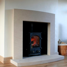 Modern Fireplaces by Southern Stone Crafters LLC