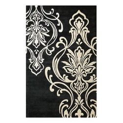 Home Decorators Collection - Romantica Rug - This hand-tufted rug from our Montaigne Collection offers a classic, traditional pattern presented in a bold design that is sure to add a touch of modern flair to your home. Sturdily constructed of high-quality materials, this rug is perfect for any room, including those high-traffic areas of your home. Hand-tufted for lasting quality. Latex and cotton backing provides extra durability.