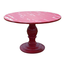 Round Dakota Pedestal Dining Table