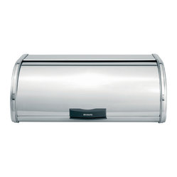 Brabantia Storage Touch Bin®, Large, Brilliant Steel