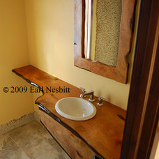 Contemporary Vanity Tops And Side Splashes by Earl Nesbitt Fine Furniture
