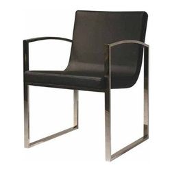 Nuevoliving - Nuevo Living Clara Lounge Chair - Black - Features: