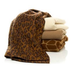Highgate Manor All-Season Animal Throw - I could not put together a collection of throw blankets without having some animal print represented. I absolutely love the full-on faux fur kinds, but if you are not that adventurous with your decor, I like the more subtle appeal of these patterns. The leopard and giraffe options would work well in a neutral space that needs a bit of dimension.