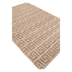 Jaipur - Natural Fiber Naturals Treasure 8'x10' Rectangle White Area Rug - The Naturals Treasure area rug Collection offers an affordable assortment of Natural Fiber stylings. Naturals Treasure features a blend of natural White color. Natural of 100% Hemp the Naturals Treasure Collection is an intriguing compliment to any decor.