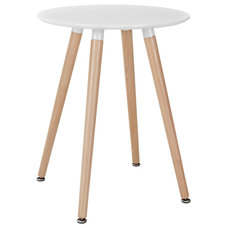 Modern Dining Tables Track Circular Dining Table EEI-1058 White