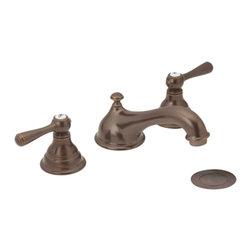 "Moen - Moen T6105ORB Oil Rubbed Bronze Bath Sink Faucet Trim 2-Handle 8""-16"" Center - Moen T6105ORB Kingsley Two Handle Low Arc Bathroom Faucet - Oil Rubbed Bronze"