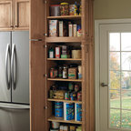 Schrock Easy Access Tall Utility - The little things in life like having an organized pantry can bring ease and simplicity to your cooking routine.