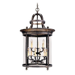 World Imports - World Imports WI1609 9 Light Indoor Pendant French Country Influence Co - *Nine light pendant Requires 9 candelabra base 60W max bulbs Comes with 10 feet of chain and 12 feet of wire