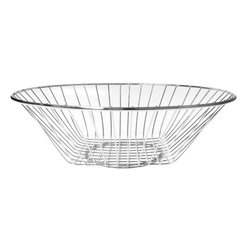 Cuisinox - 10in. x 3 1/4in. Wire Bread Basket - Cuisinox 10 in.  x 3 1/4 in.  wire bread basket