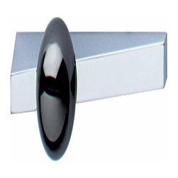 Hafele - Hafele Handle Zinc Chrome Matt / Black Nickel-Plated M4 ctc 64mm - Hafele Handle Zinc Chrome Matt / Black Nickel-Plated  ctc 64mm