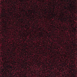 Surya - Surya Dunes DNE-3524 (Black, Burgundy) 5' x 8' Rug - Hand woven of 100% polyester, Surya's Dunes collection gives a contemporary feel to the traditional shag area rug. Slipping back from the seventies to spice your casual or formal area up with style this piece is sure to be timeless.