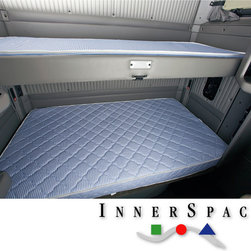 Innerspace - Truck Relax Series Firm Support 5.5-inch Foam Mattress - The Truck Relax mattress offers optimum comfort and joint relief for the hardworking truck professional. The 5.5 inches polyurethane foam core and quilted mattress top offers a good night's rest at an unbeatable price.