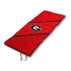 Sports Coverage - NCAA Georgia Bulldogs MVP College Slumber-Sleeping Bag - Features: