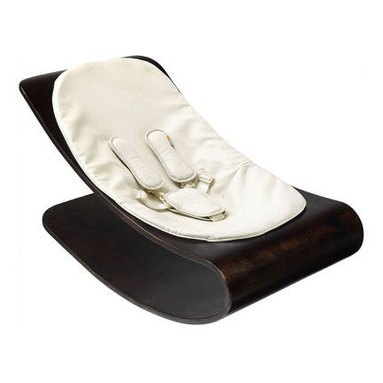 Coco Stylewood Baby Lounger - Introduce your baby to good design from the first with this baby lounger. A modern take on a traditional bouncer, this beautiful piece will look great in a corner of the room when not in use--and of course look best with your smiling babe cooing from within it.