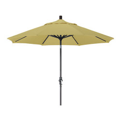 California Umbrella - 9 Foot Sunbrella Aluminum Crank Lift Collar Tilt Market Umbrella, Black Pole - California Umbrella, Inc. has been producing high quality patio umbrellas and frames for over 50-years. The California Umbrella trademark is immediately recognized for its standard in engineering and innovation among all brands in the United States. As a leader in the industry, they strive to provide you with products and service that will satisfy even the most demanding consumers.