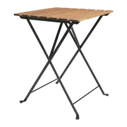 IKEA of Sweden - TÄRNÖ Folding table - Folding table, acacia, steel