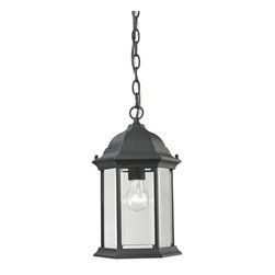 Cornerstone - Cornerstone Spring Lake 8601EH/65 Hanging Medium in Matte Texetured Black - 8601EH/65 Hanging Medium in Matte Texetured Black belongs to Spring Lake Collection by Cornerstone Outdoor Pendant (1)