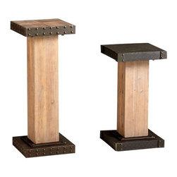 Cyan - Chester Pedestal - Weight: 23.3 lbs.