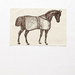 "Anthropologie - Thoroughbred Bathmat - By Thomas PaulCottonMachine wash36""L, 24""WUSA"