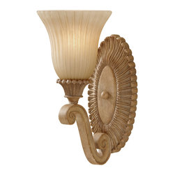 Feiss - Feiss VS18801-MAW Blaire Medium Aged Wood Wall Sconce - Feiss VS18801-MAW Blaire Medium Aged Wood Wall Sconce