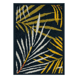 """Loloi Rugs - Loloi Rugs Terrace Collection - Navy / Multi, 1'-8"""" x 2'-6"""" - Bold design and bright colors come together beautifully in the outdoor-friendly Terrace Collection. Each Terrace rug is power loomed in Egypt of 100% polypropylene that's specially treated to withstand rain and UV damage without staining or fading color.�"""