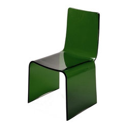Spectrum West - Green Kush Chair - Material: Acrylic