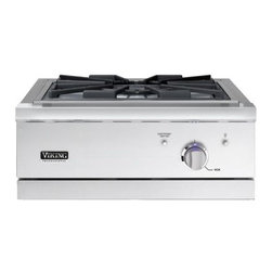 """VIKING 24"""" Outdoor Wok/Cooker, Natural Gas Stainless Steel 