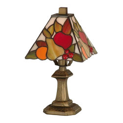 Dale Tiffany - New Dale Tiffany Accent Lamp Brass Metal - Product Details