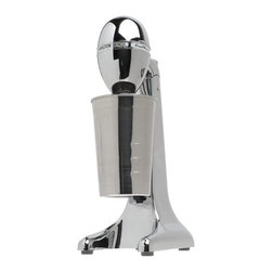 Hamilton Beach - Classic Stainless Steel Drink Mixer - Enjoy thick shakes and soda fountain drinks at home with this Hamilton Beach Classic DrinkMaster . It features a 28 oz. Stainless Steel mixing cup, two speeds, tiltable mixing head and easy-clean detachable spindle.