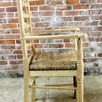 farmhouse ladderback chair - Made by http://www.ecustomfinishes.com