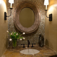 For the Home / Awesome Tile for 1/2 bath.