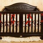 Little Crown Interiors - Western Silk Crib Bedding - Western Silk Crib Bedding