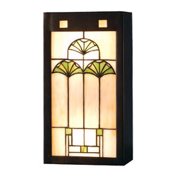 "Meyda Lighting - Meyda Lighting 71008 7.5""W Ginkgo Wall Sconce - Meyda Lighting 71008 7.5""W Ginkgo Wall Sconce"