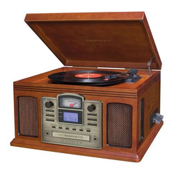 Crosley Radio - Director CD Recorder - CD Recorder- Records Albums and Cassettes To CD