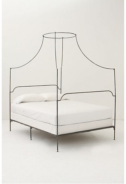 Contemporary Canopy Beds Italian Campaign Canopy Bed