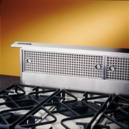 Broan - Elite Rangemaster RMDD3604EX Downdraft Ventilation System with Internal or Exter - Designed specifically to be compatible with most conventional and commercial style cooktops combines a sensational appearance with high performance features The compact design is installed directly behind the cooktop for an unobtrusive appearance whi...
