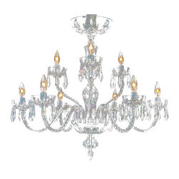 Waterford - Waterford Lismore Nine Arm Chandelier - Waterford Lismore Nine Arm Chandelier