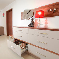 Closet Storage by Savio & Rupa Interior Concepts (Bangalore)